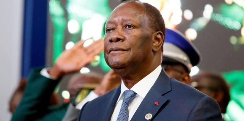 Le Président Alassane Ouattara a régagné Abidjan. (DR)