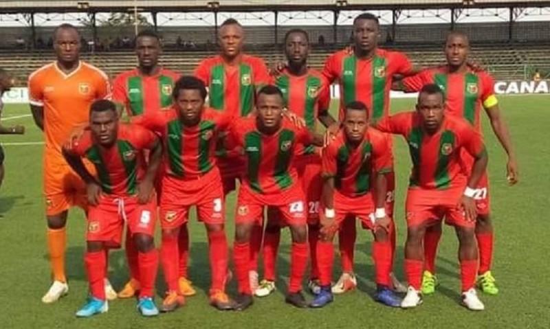 L'équipe de l'Africa sports