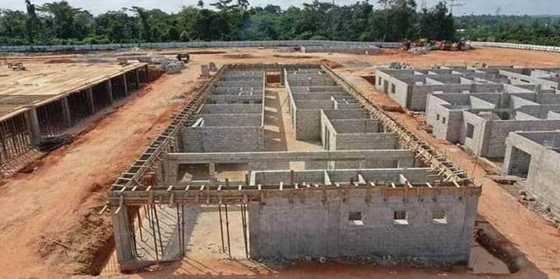 Construction du CHR d'Adzopé (Daouda Ouattara Officiel)