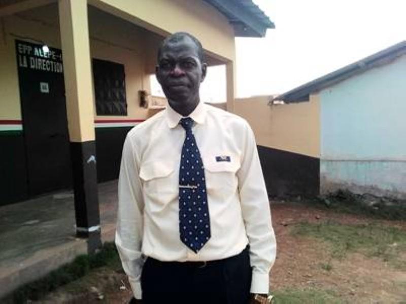 Djama Benjamin, président de la Cei sous-préfectorale de Danguira. (DR)