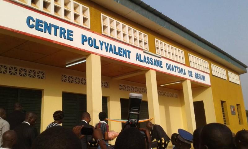 Le centre polyvalent Alassane Ouattara fait la fierté des populations de Béoumi. (C. Kazoni)