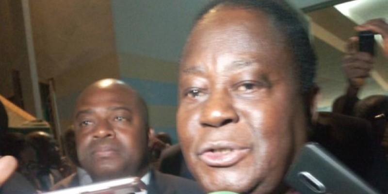Le Président Bédié a souhaité la paix en Côte d'Ivoire.