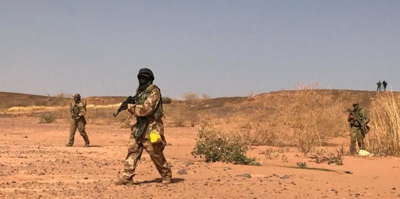 Des commandos nigériens lors d'exercices parrainés par les États-Unis. (DR)