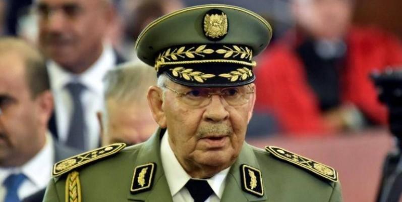 Ahmed Gaïd Salah, le chef d'état-major de l'armée.(DR)