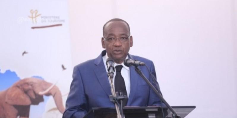 Jean-Marie Somet, directeur général de Côte d'Ivoire Tourisme, a exhorté les artisans à promouvoir le « Made in Côte d'Ivoire ». (DR)