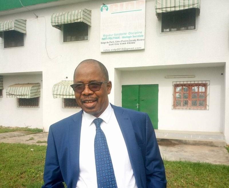 Babily Dembélé, Président du CIDP  estime que Guillaume Soro doit être arrêté et jugé.