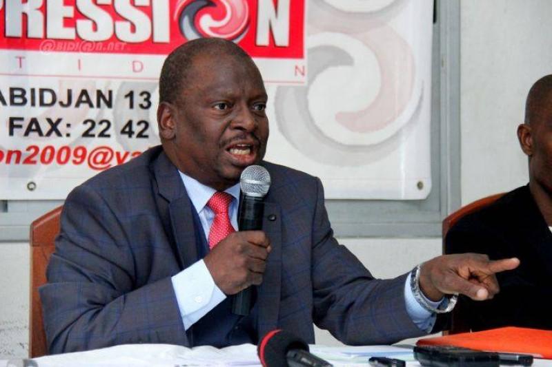 KOUYATE ABDOULAYE, Président de l'Union des enseignants RHDP. (DR)