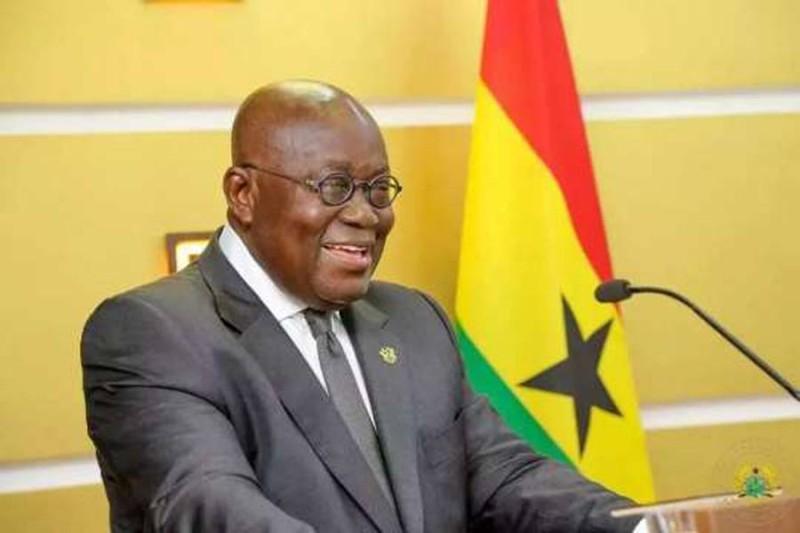 Le président du Ghana, Nana Akufo Addo (DR)