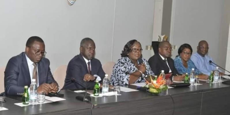 La direction exécutive du Rhdp a donné d'amples informations aux diplomates. (DR)