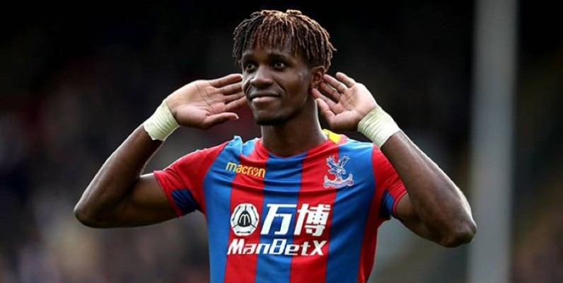 L'international ivoirien Wilfried Zaha. (DR)