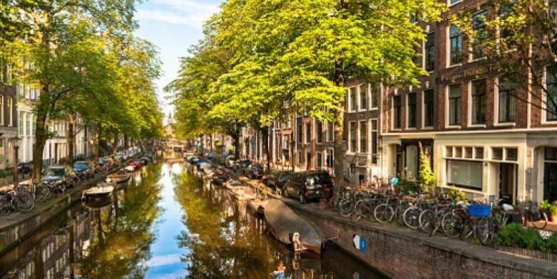 Amsterdam, Bloemgracht, le canal aux fleurs(DR)