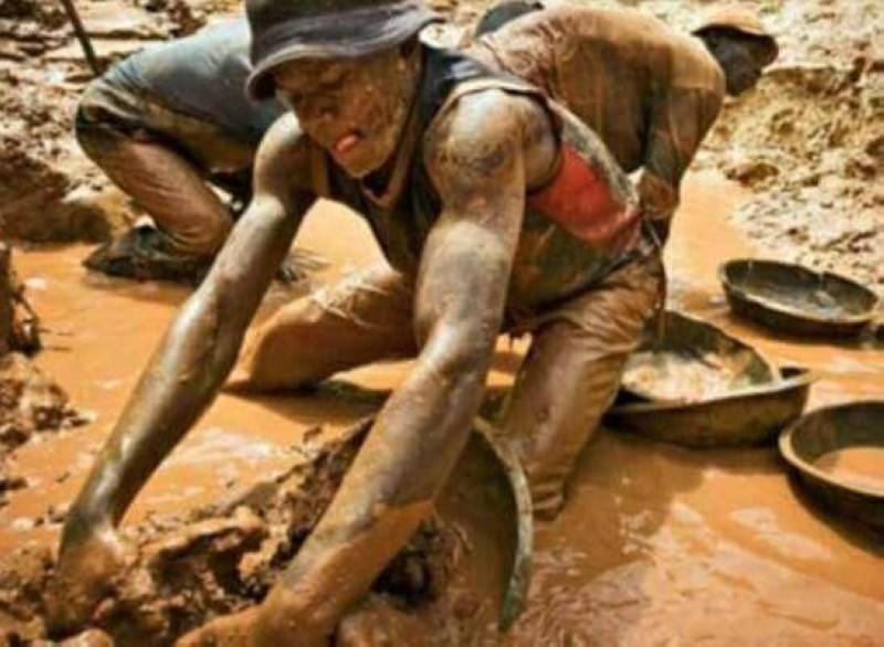 L'orpaillage clandestin est une devenu un véritable fléau en Côte d'Ivoire. (DR)