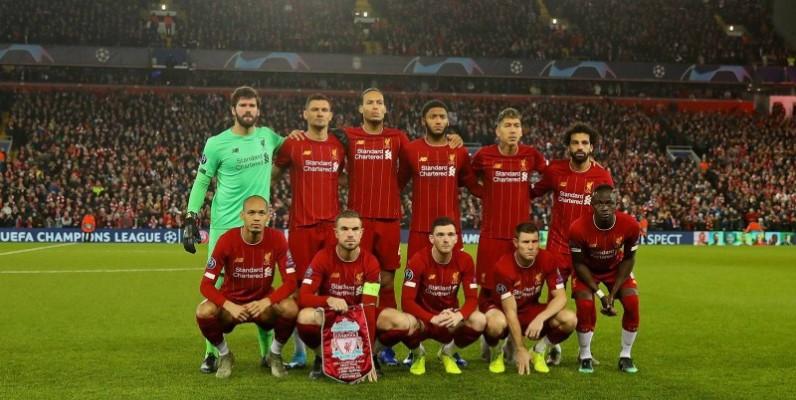 L'équipe de Liverpool FC bientôt dans un nouveau maillot. (DR)