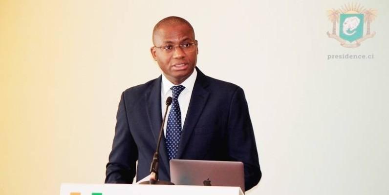 Sidi Tiémoko Touré, ministre de la Communication et des Médias par ailleurs porte-parole du gouvernement. (DR)