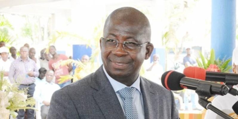 Le Dg du Port autonome d'Abidjan, s'est dit satisfait des performances 2019. (DR)