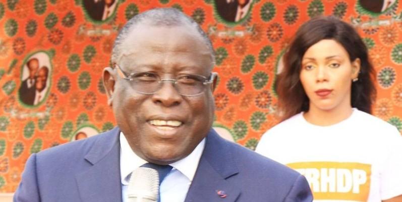 Ibrahim Cissé Bacongo, député-maire de Koumassi. (DR)
