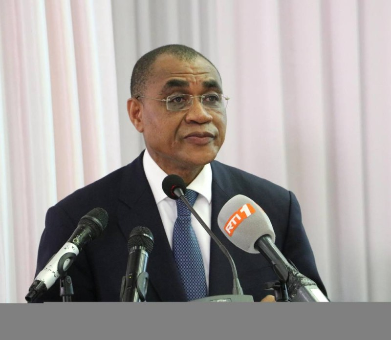 Le ministre de l'Economie et des Finances, Adama Coulibaly. (DR)