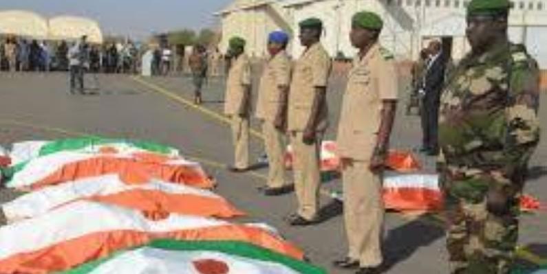 Les victimes de l'attaque de Chinagodrar au Niger  (DR)