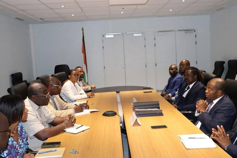La séance de travail au ministère du Tourisme et des Loisirs (DR)