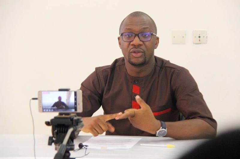Israël Guebo, journaliste-écrivain, membre du Consei d'administration de l'EsjL et Fondateur de IAM (DR)