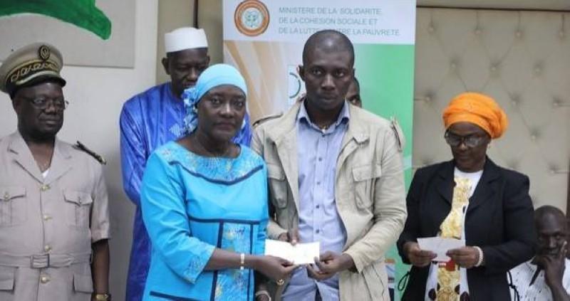 Le Professeur Mariatou Koné à Odienné (DR)