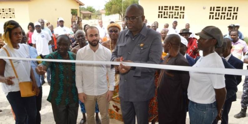 Inauguration officielle de l'Epp Pierre Fahoury. (DR)