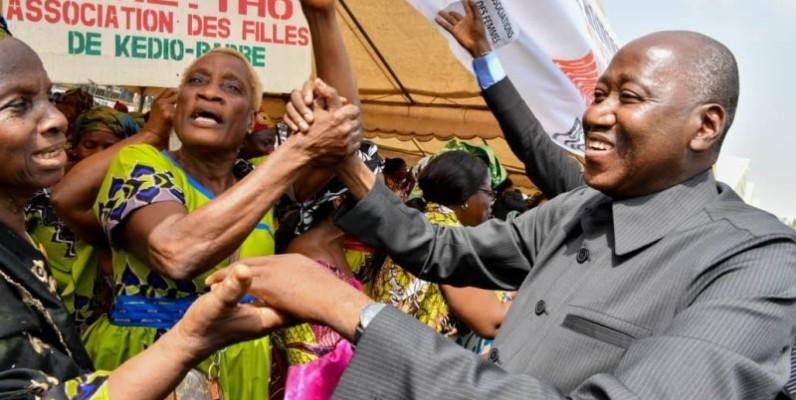Le Premier ministre Amadou Gon Coulibaly à Gagnoa. (Primature)