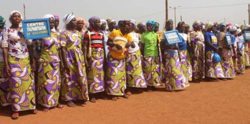 les femmes alphabétisées à Mankono. (DR)