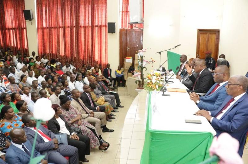 Le Président Ibrahime Coulibaly-Kuibiert a confirmé les dispositions prises pour améliorer le traitement des Agents Techniques d'Appui (DR)