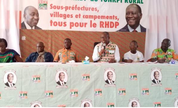 Rémi Dion a mis sur pied un nouveau mouvement politique dénommé mouvement Rhdp du Tonkpi rural.