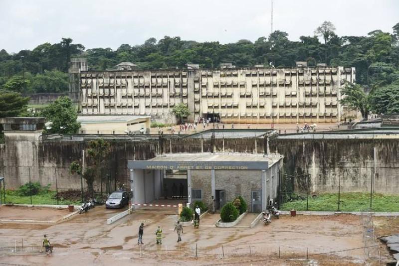 Une vue de la Maison d'arrêt et de correction d'Abidjan (DR)