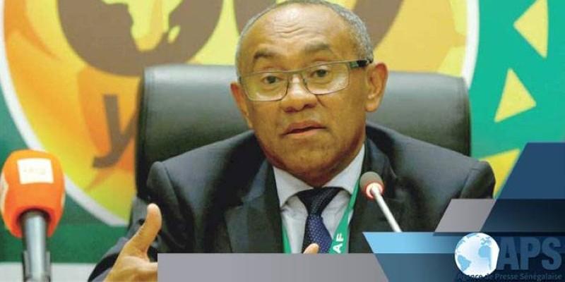 Le président de la Caf, Ahmad. (DR)