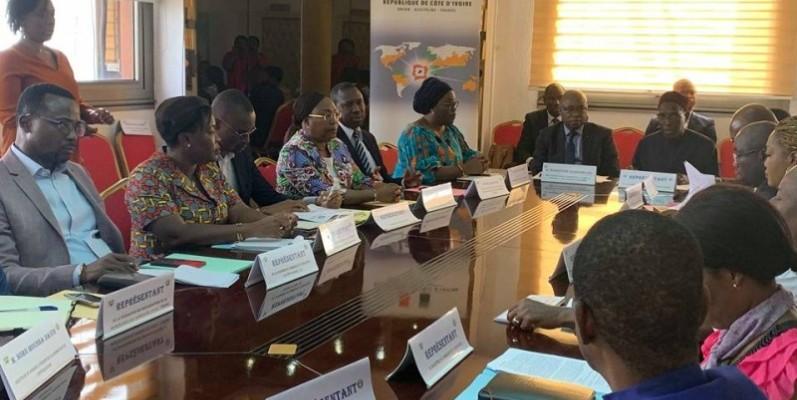 Plusieurs acteurs de la société civile ont répondu présent à l'appel du ministère de l'intégration africaine et des Ivoiriens de l'extérieur. (DR)