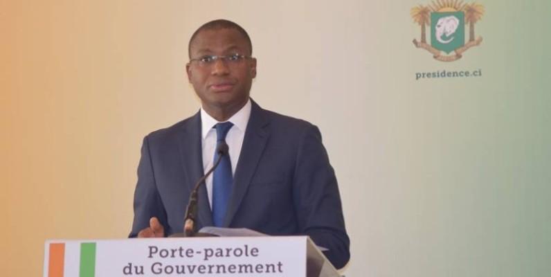 Sidi Tiémoko Touré, ministre de la Communication et des Médias et porte-parole du gouvernement. (DR)