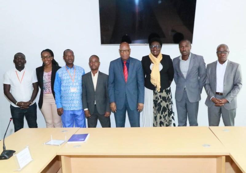 Le Synappci  échange avec l'Autorité national de la presse (DR)