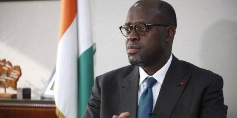 Alain-Richard Donwahi, ministre des Eaux et forêts. (DR)