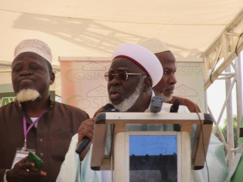 Le président du Cosim, Boikary Fofana souhaite des élections apaisées et sans effusion de sang.(DR)