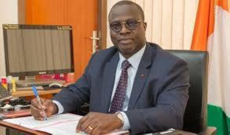 Emmanuel Essis, ministre auprès du Premier Ministre, chargé de la Promotion de l'Investissement Privé. (DR)