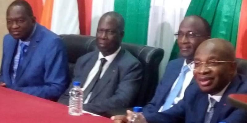 Les ministres procedent au lancement du Festival Mandé N'Kô (DR)