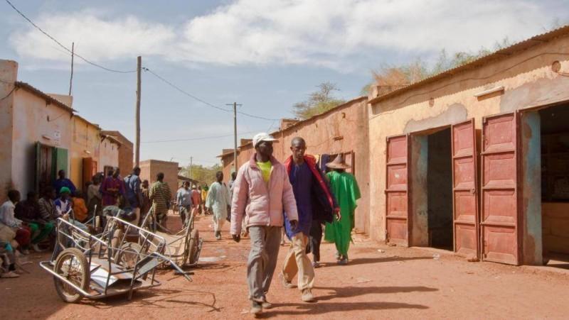 Le village de Sinda est situé à 12 km de la ville de Douentza, dans le centre du Mali. (Dr)