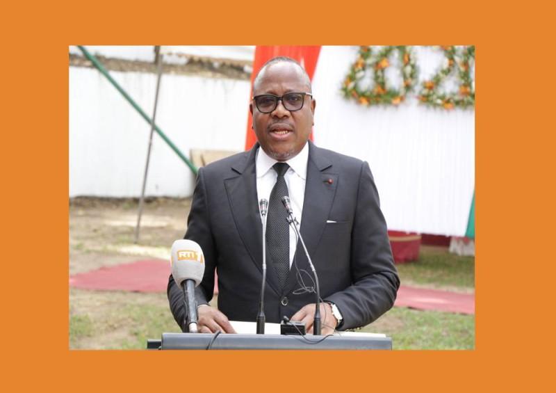 Le président de la CEI, Coulibaly-Kuibiert (DR)