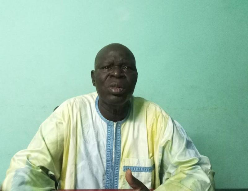 Mamadou Salogo, président Conseil national des burkinabé en Côte d'Ivoire (Ph: Salif D. CHEICKNA)