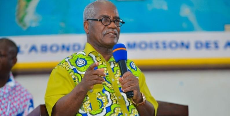 Dr  Yayé Dion Robert, président du consistoire des Églises protestantes et évangéliques de Côte d'Ivoire. (DR)