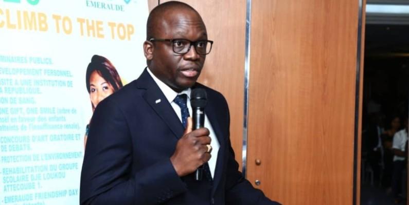 Donald Flé le président exécutif national JCI Côte d'Ivoire (DR)