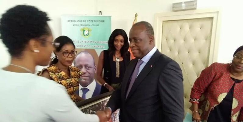 Ally Coulibaly, ministre de l'Intégration africaine et des Ivoiriens de l'extérieur. (DR)