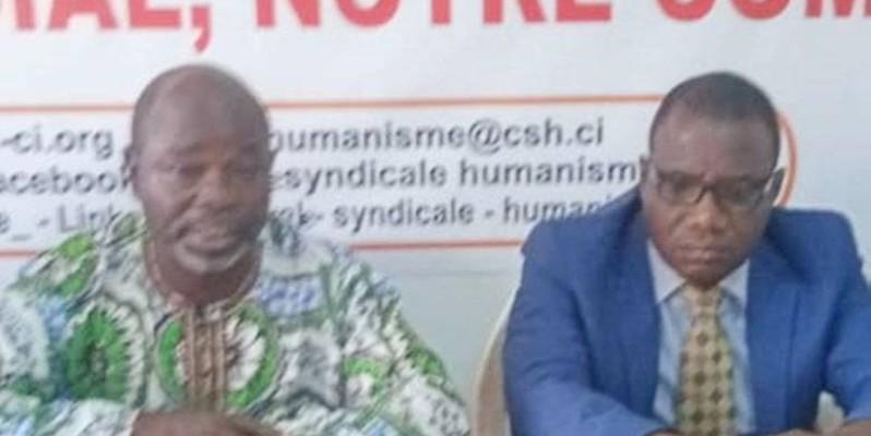 Cnisef-Ci était en conférence pour dénoncer le concours pédagogique organisé par la Direction des ressources humaines. (DR)