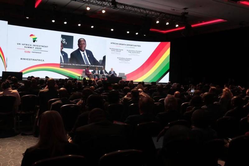 Une salle archi-comble pour écouter le Président Ouattara parler de le modèle ivoirien (présidence.ci)