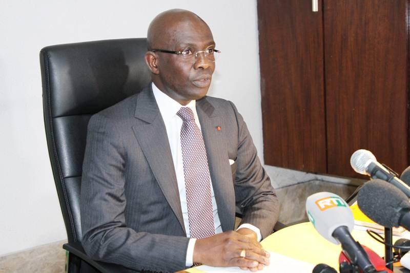 Le procureur de la République, Adou Richard a informé la presse sur les raisons des poursuites lancées contre Guillaume Soro en dépit de sa qualité d'ancien président de l'Assemblée nationale. (Joséphine Kouadio)