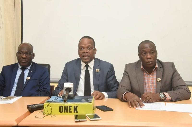Les députés Alain Lobognon, Camara Loukimane... (DR)