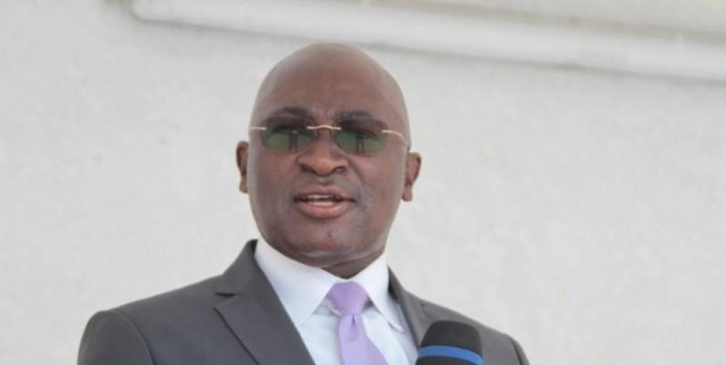 Le directeur général de la Décentralisation et du Développement local, Lazare Dago Djéhi. (Sébastien Kouassi)